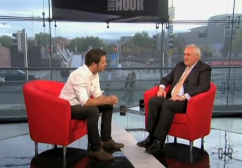 Bertie Ahern – The Hour with George Stroumboulopoulos