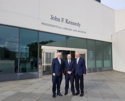 Bertie Ahern at the Kennedy Insitute